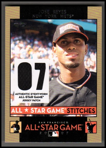 Photo of 2007 Topps Update All-Star Stitches #JR Jose Reyes