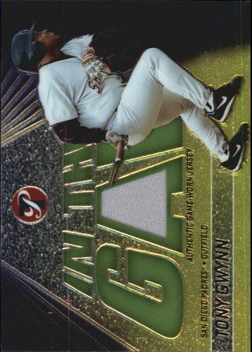 Photo of 2002 Topps Pristine In the Gap #TG Tony Gwynn Jsy B
