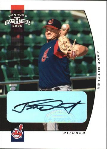 Photo of 2005 Donruss Team Heroes Autographs #365 Jake Dittler