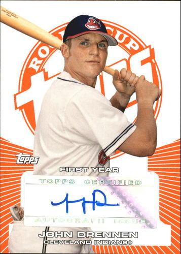 Photo of 2005 Topps Rookie Cup Orange #152 John Drennen AU