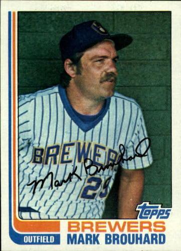 Photo of 1982 Topps #517 Mark Brouhard