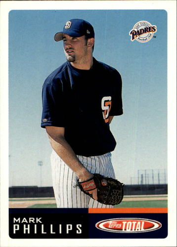 Photo of 2002 Topps Total #346 Mark Phillips RC
