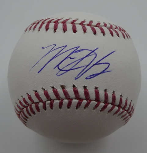 Photo of Matt Harvey Autographed Baseball