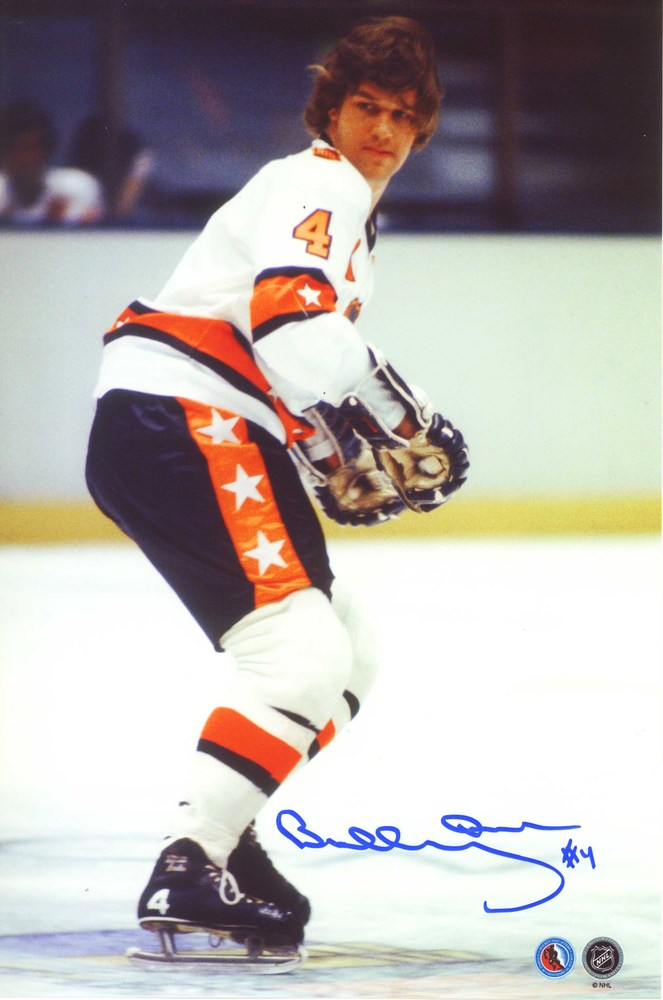 Bobby Orr - Signed 8x10 All-star Action White Jersey