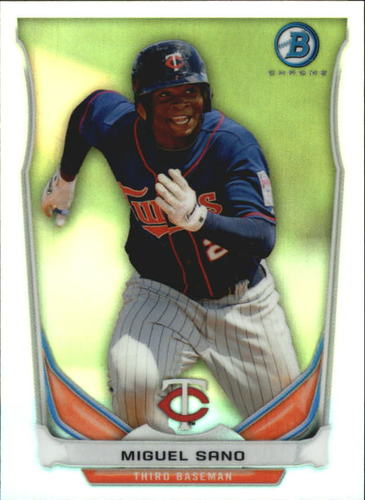Photo of 2014 Bowman Chrome Bowman Scout Top 5 Mini Refractor Miguel Sano