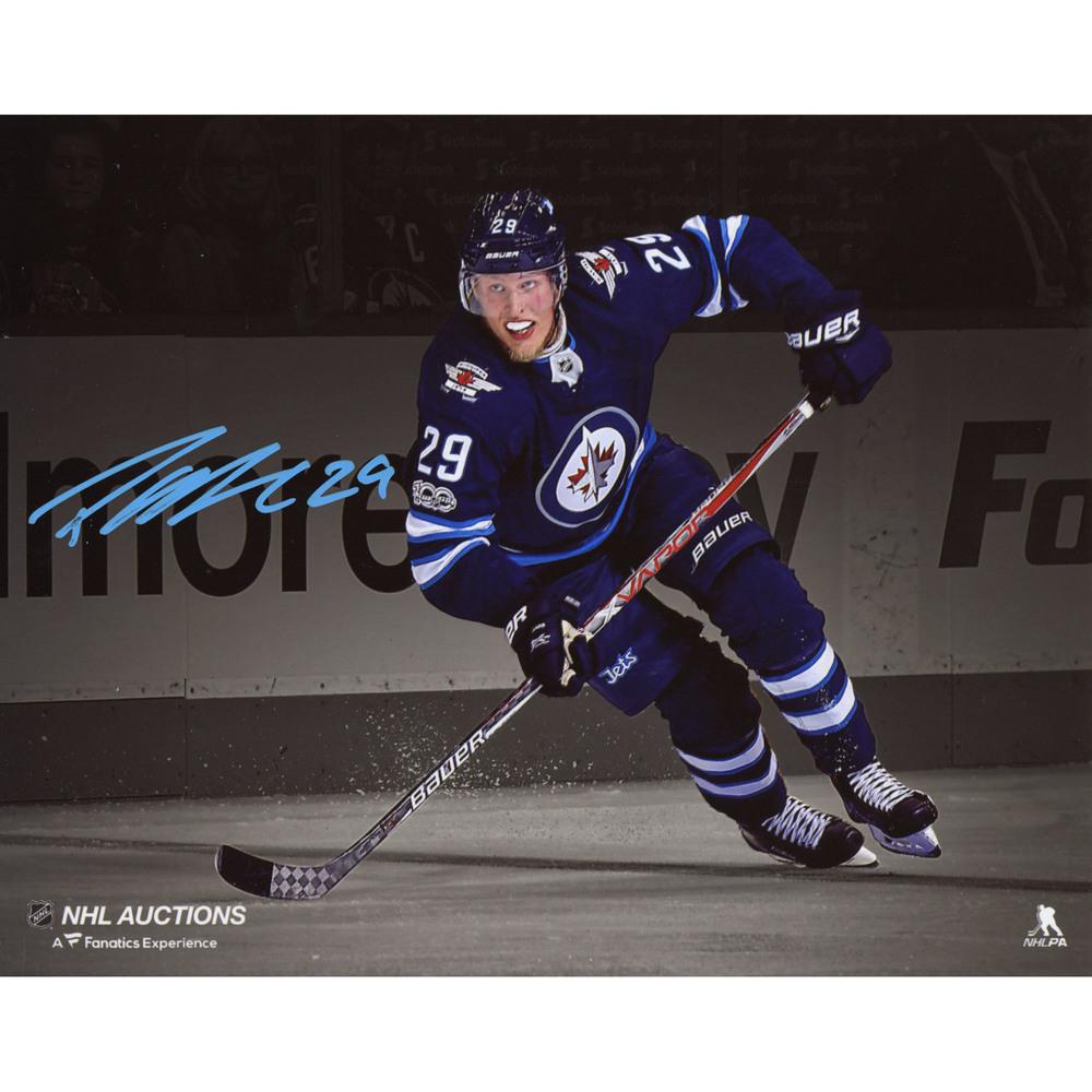 Patrik Laine Winnipeg Jets Autographed 8