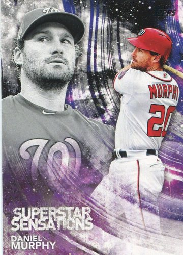 Photo of 2018 Topps Superstar Sensations #SSS41 Daniel Murphy