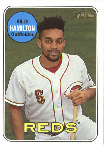 Photo of 2018 Topps Heritage #108 Billy Hamilton