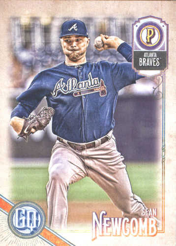 Photo of 2018 Topps Gypsy Queen #221 Sean Newcomb
