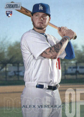Photo of 2018 Stadium Club #266 Alex Verdugo RC