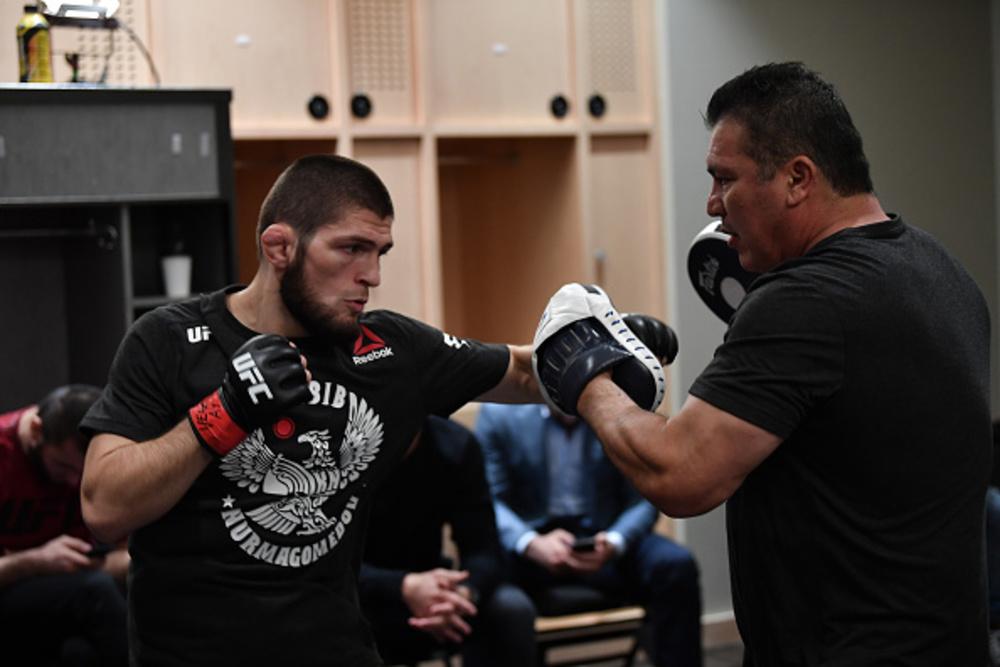 Khabib Nurmagomedov UFC 229: Khabib vs. McGregor Event-Worn Walkout Jersey