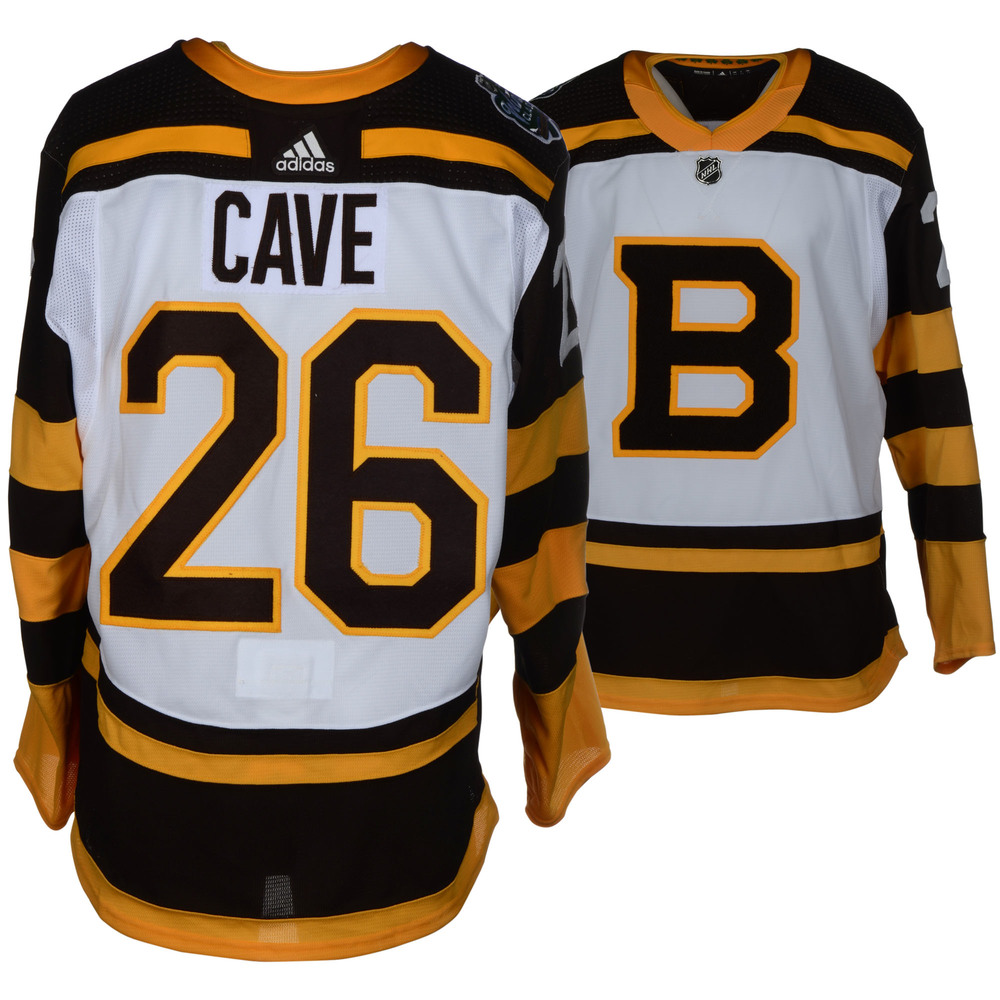 Colby Cave Boston Bruins Game-Worn 2019 NHL Winter Classic Jersey ... bc573a57b