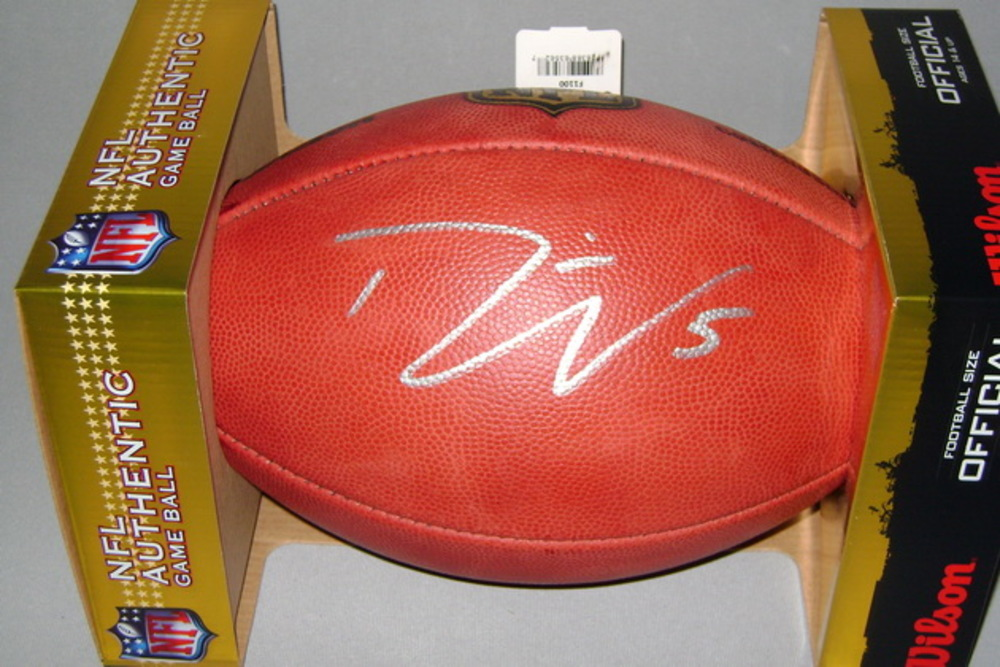 NFL - Jets DAVIS WEBB SIGNED AUTHENTIC FOOTBALL