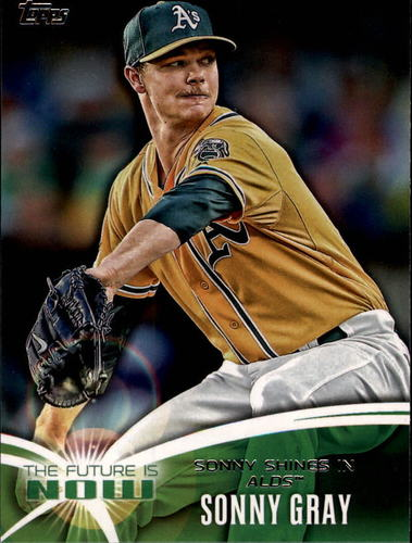 Photo of 2014 Topps The Future is Now #FN48 Sonny Gray