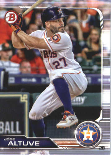 Photo of 2019 Bowman #62 Jose Altuve