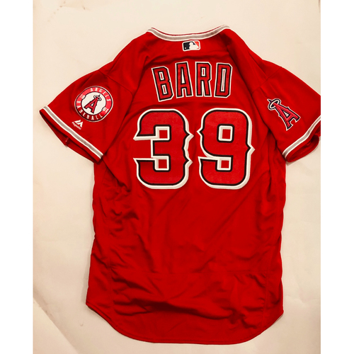 Photo of 2019 Mexico Series - Game-Used Jersey - Luke Bard, Houston Astros at Los Angeles Angels - 5/4/19