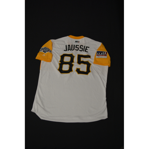 "Photo of 2019 Little League Classic - Game Used Jersey - Dave ""Jausse"" Jauss,  Chicago Cubs at Pittsburgh Pirates - 8/18/2019 (Size - 46)"