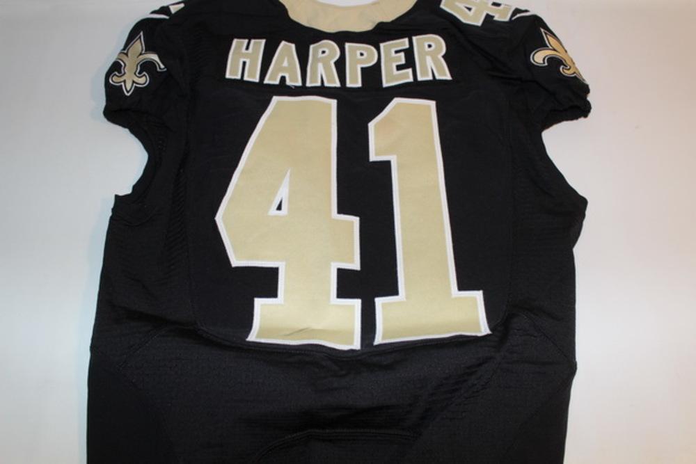 NFL Auction | STS - SAINTS ROMAN HARPER GAME WORN SAINTS JERSEY ...