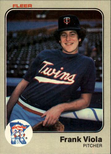 Photo of 1983 Fleer #625 Frank Viola RC