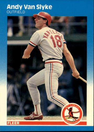Photo of 1987 Fleer #311 Andy Van Slyke