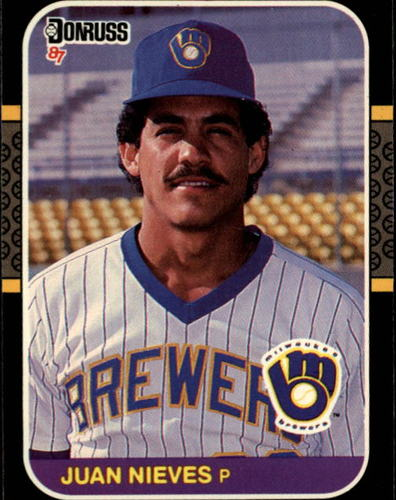 Photo of 1987 Donruss #90 Juan Nieves