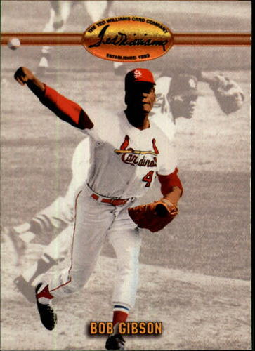 Photo of 1993 Ted Williams #90 Bob Gibson