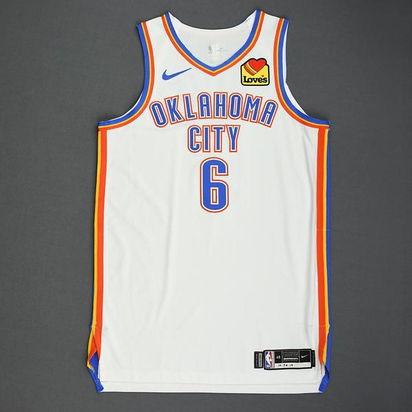 Image of Hamidou Diallo - Oklahoma City Thunder - Game-Worn Association Edition Jersey - Double-Double - 2019-20 NBA Season