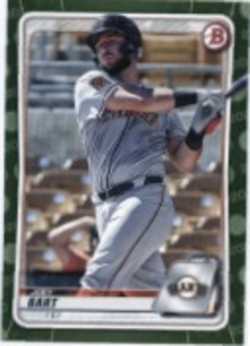 Photo of 2020 Bowman Prospects Camo #BP112 Joey Bart