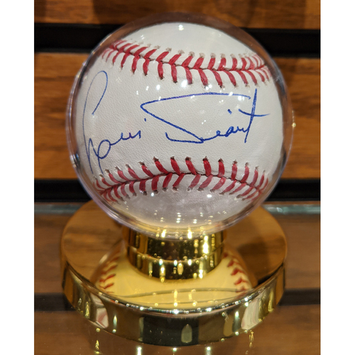 Photo of Luis Tiant Autographed Baseball