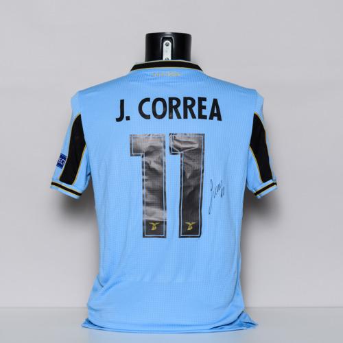 Photo of 20/21 S.S. Lazio Jersey - signed by Joaquin Correa