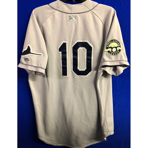 Photo of Team Issued Appalachian League Gray Jersey - #10