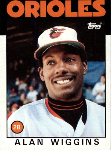 Photo of 1986 Topps #508 Alan Wiggins