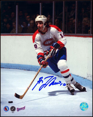 GUY LAFLEUR Montreal Canadiens SIGNED 8x10 Photo
