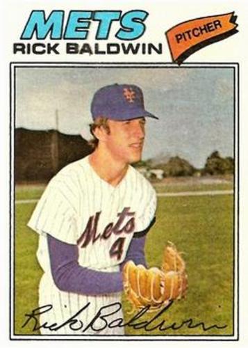 Photo of 1977 Topps #587 Rick Baldwin