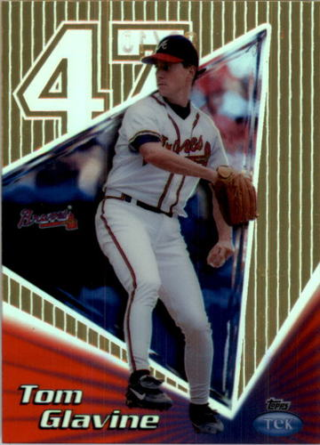 Photo of 1999 Topps Tek Gold Pattern 23 #30A Tom Glavine