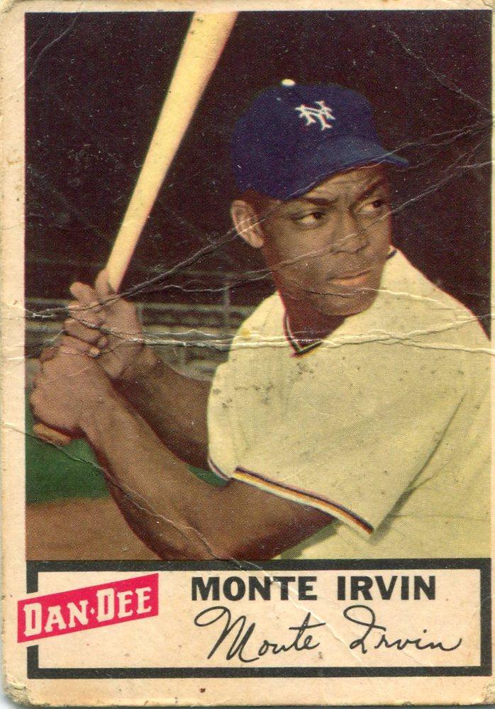 1954 Dan-Dee #13 Monte Irvin
