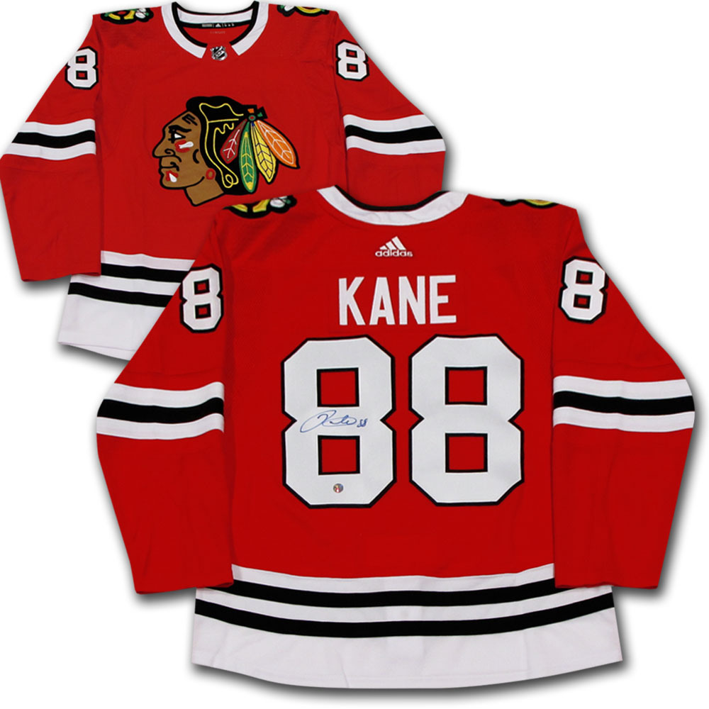 Patrick Kane Autographed Chicago Blackhawks adidas Pro Jersey