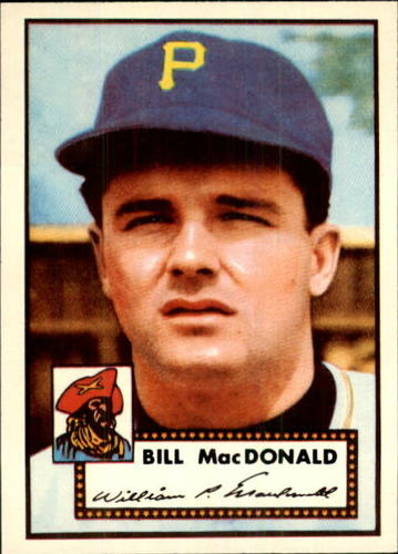Photo of 1983 Topps 1952 Reprint #138 Bill MacDonald