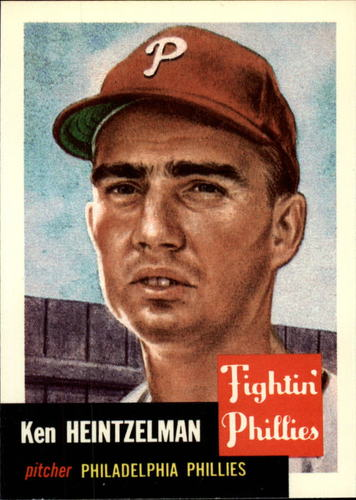 Photo of 1991 Topps Archives 1953 #136 Ken Heintzelman