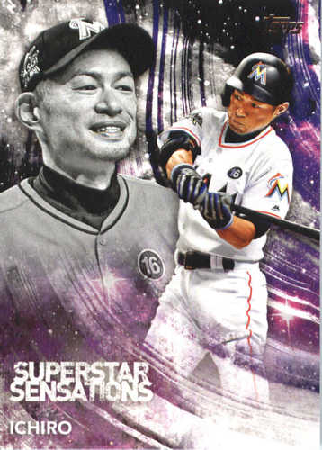 Photo of 2018 Topps Superstar Sensations #SSS45 Ichiro