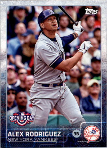 Photo of 2015 Topps Opening Day #48 Alex Rodriguez