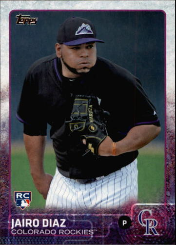 Photo of 2015 Topps #668 Jairo Diaz RC