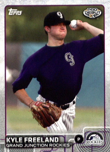 Photo of 2015 Topps Pro Debut #96 Kyle Freeland