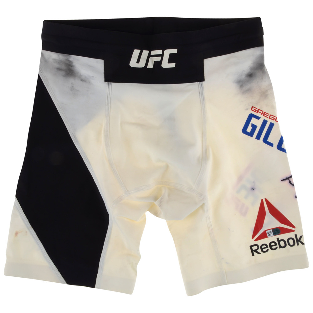 Gregor Gillespie Autographed UFC 210 Fight-Worn Shorts - Defeated Andrew Holbrook via First Round Knockout