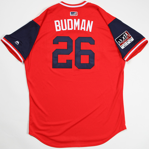 "Photo of Bud ""Budman"" Norris St. Louis Cardinals Game-Used 2018 Players' Weekend Jersey"