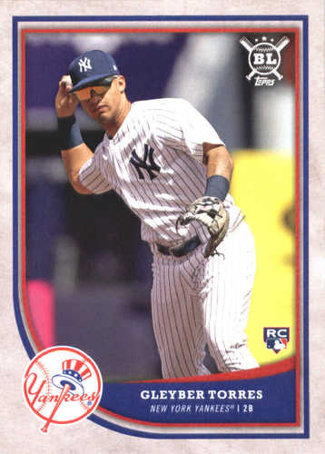 Photo of 2018 Topps Big League #368 Gleyber Torres RC
