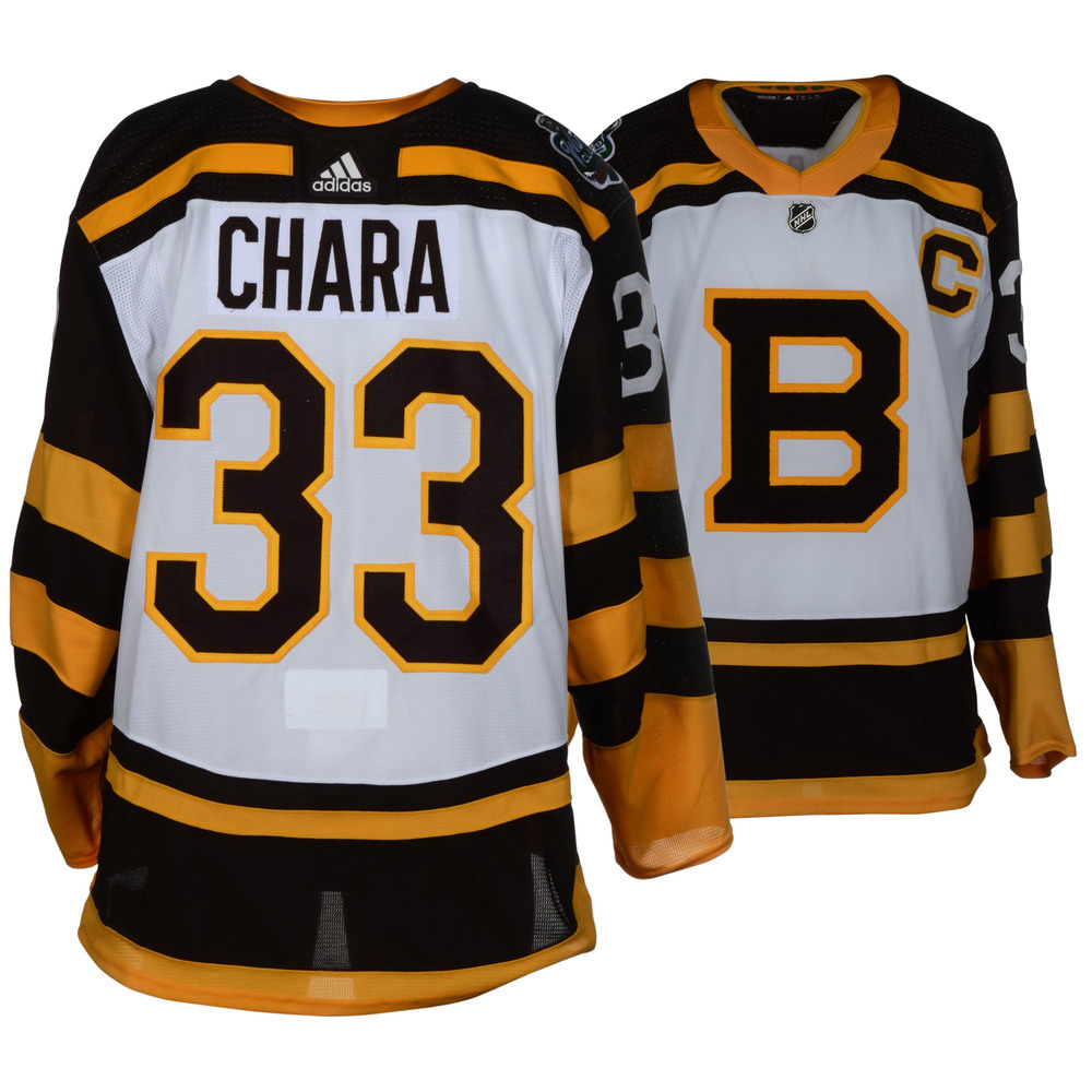 Zdeno Chara Boston Bruins Game-Worn 2019 NHL Winter Classic Jersey