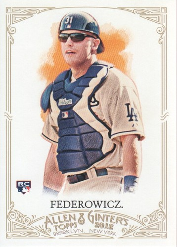 Photo of 2012 Topps Allen and Ginter #180 Tim Federowicz RC