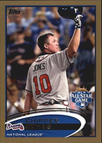 Photo of 2012 Topps Update Gold #US166 Chipper Jones