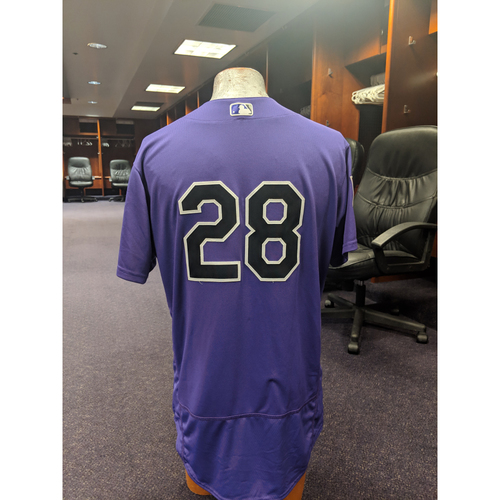 Photo of Colorado Rockies Game-Used 2019 Spring Training Jersey - Nolan Arenado